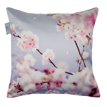 Pillow cover Cherry blossom purple