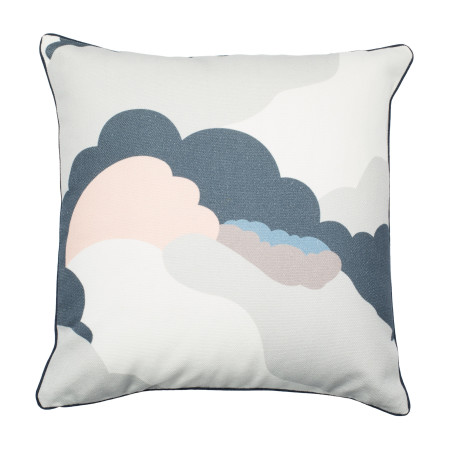 Pillow cover Dreams blue