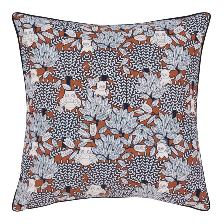 Pillow cover Edwige blue