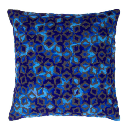 Pillow cover Essaouira blue
