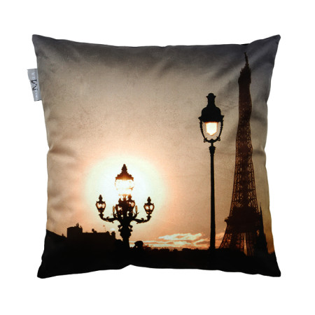 Pillow cover Forever paris natural
