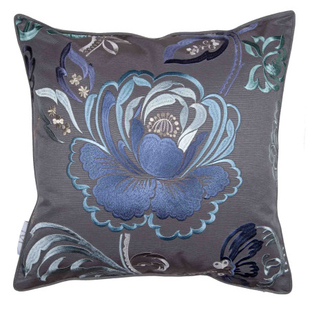 Pillow cover Magellan blue