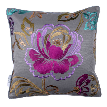 Pillow cover Magellan grey