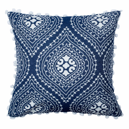 Pillow cover Manali white