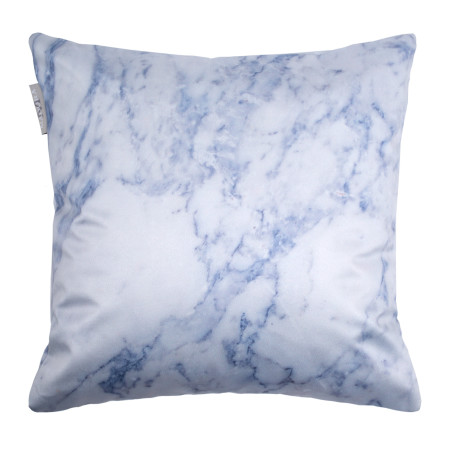 Pillow cover Marble white