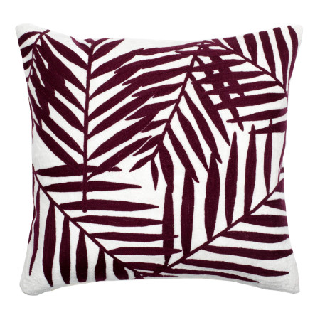 Pillow cover Mekong red