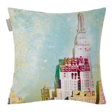 Pillow cover New yorker green