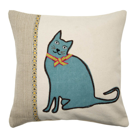 Pillow cover Nice cat natural