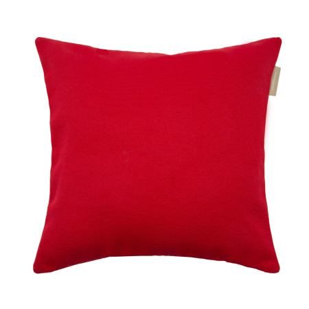 Pillow cover Outdoor red