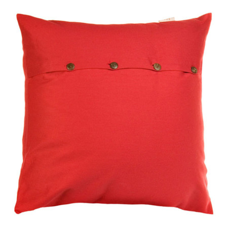Pillow cover Pampa red