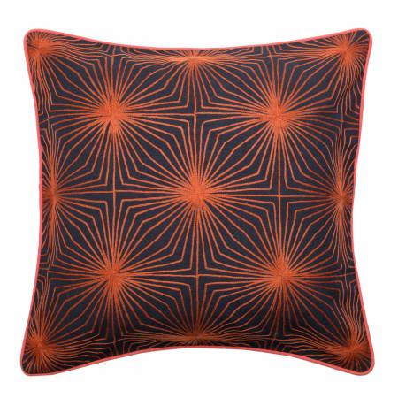 Pillow cover Paradoxe orange