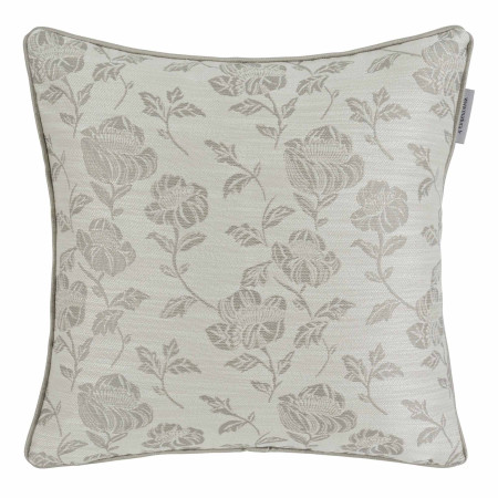 Pillow cover Peony grey