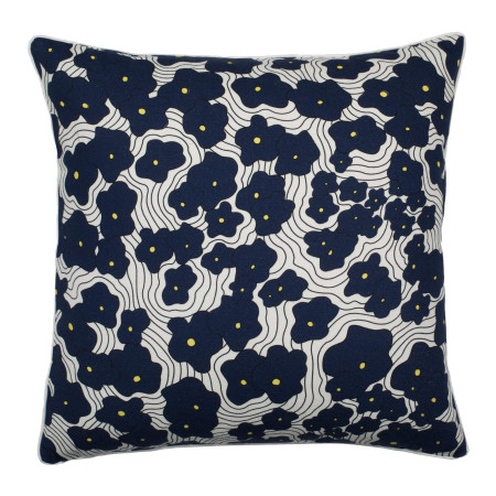 Pillow cover Poppy blue