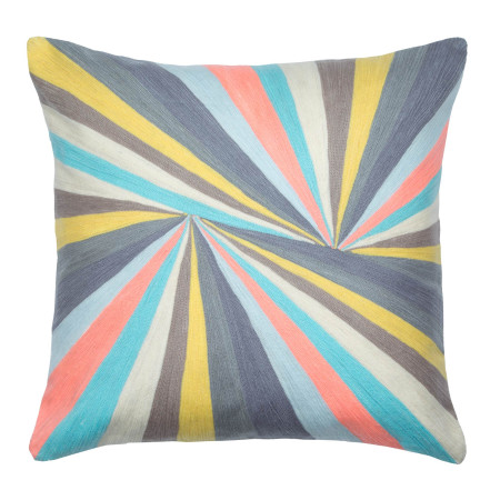 Pillow cover Prisme grey