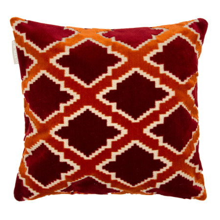 Pillow cover Rambagh red