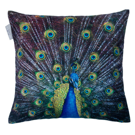 Pillow cover Royal peacock blue