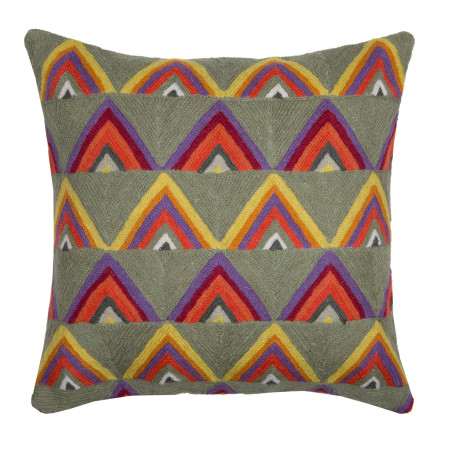 Pillow cover Teepee grey