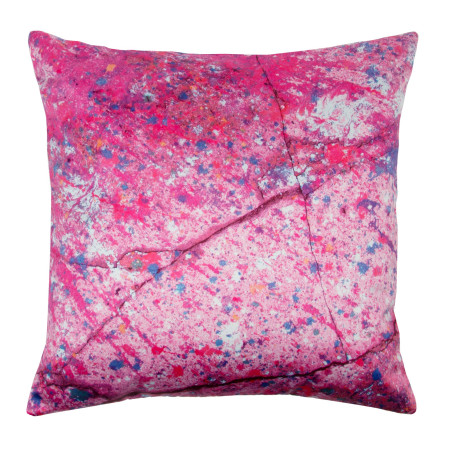 Pillow cover The wall pink