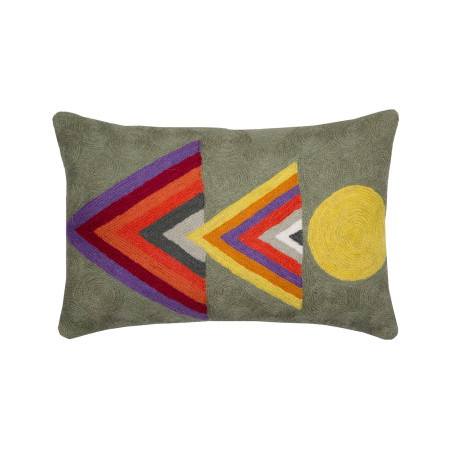 Pillow cover Totem grey