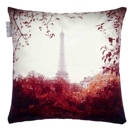 Pillow cover Vintage paris multicolor