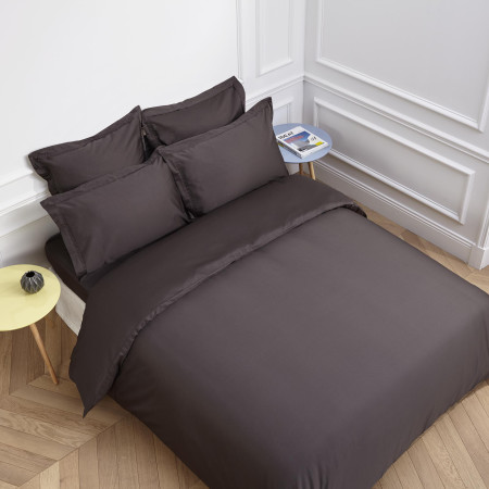 Duvet cover Aurore anthracite