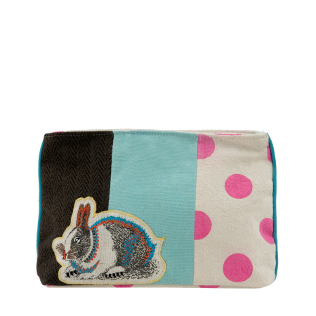 Clutch Wise rabbit multicolor