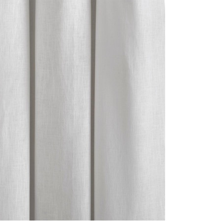 Curtain with grommets Bellevue white