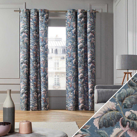 Curtain Ava blue