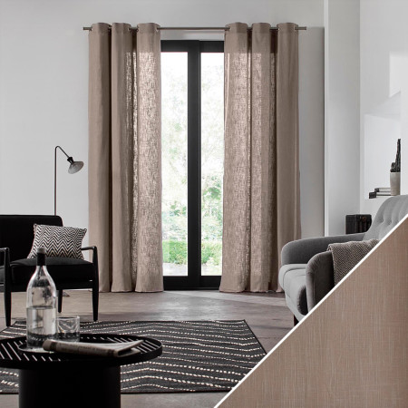 Curtain Bellevue taupe