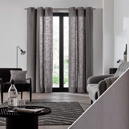 Curtain Bellevue grey