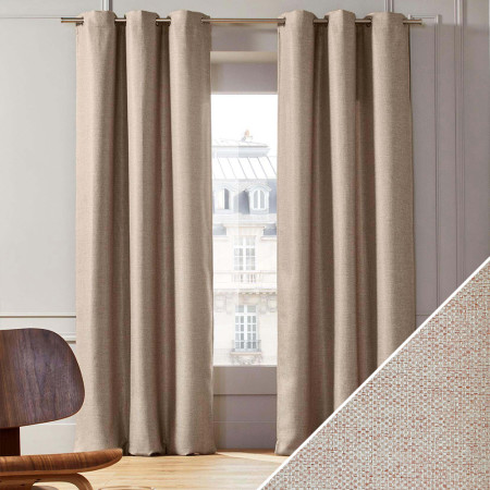 Curtain Coconut natural