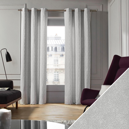 Curtain Confettis grey