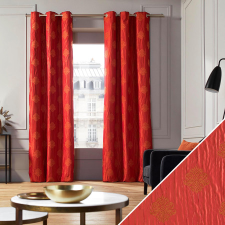 Curtain Duomo red
