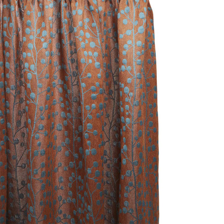 Curtain Esmeralda orange