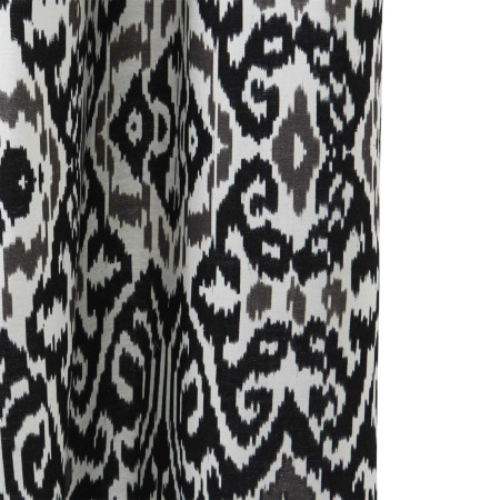 Curtain Istanbul ikat white