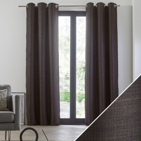 Curtain Lina grey