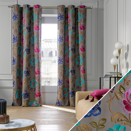 Curtain Magellan grey