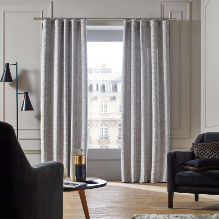 Curtain Oscar grey