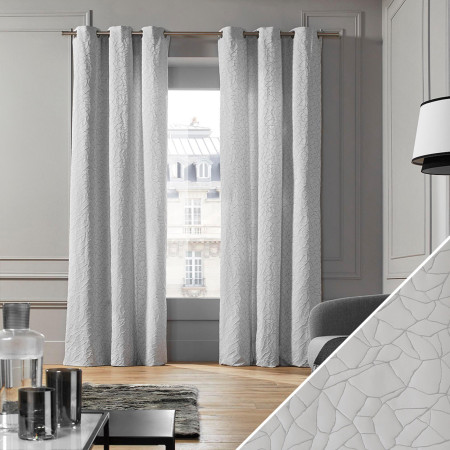 Curtain Salina grey