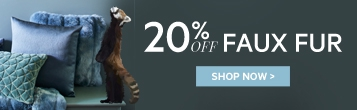 20% off Faux Fur